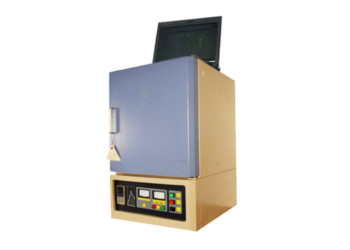 Scientific Box Lab Muffle Furnace 50 Segments Polycrystalline Mullite Fiber Lining