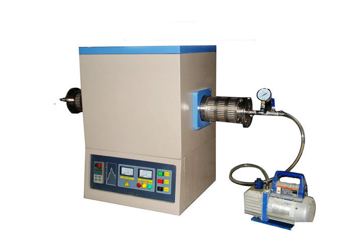 Materials Testing Lab Tube Furnace Adjustable Flange Safety Protection