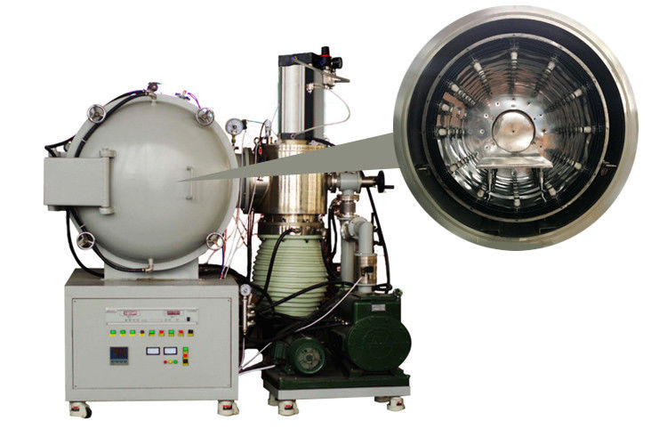 PCD Tools Brazing Vacuum Heat Treatment Furnace , Molybdenum Foil Vacuum Tempering Furnace