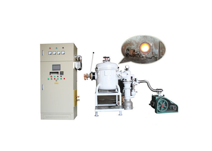 Medium Frequency Vacuum Induction Melting Furnace High Temperature Alloy